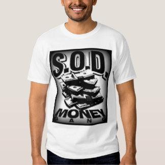 Camisa do grupo do dinheiro do SOD Camiseta