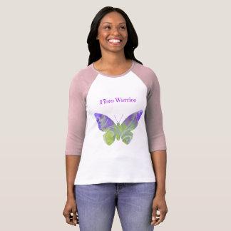 Camisa do guerreiro da fibromialgia para mulheres