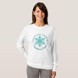 Camisa do guerreiro do floco de neve de Gravis da