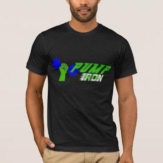 Camisa do halterofilismo do ferro da bomba