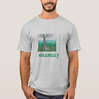 Camisa do Hillbilly a personalizar T-shirts