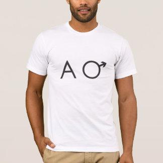 camisa do homem alfa