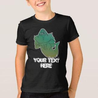 Camisa do homem T do tubarão do fantasma