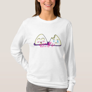 Camisa do Hoodie de Onigiri