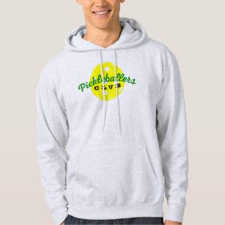 "Camisa do Hoodie de Pickleball: De ""CLUBE"