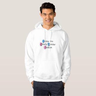 Camisa do Hoodie dos homens do orgulho do