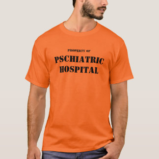 Camisa do HOSPITAL de PSCHIATRIC