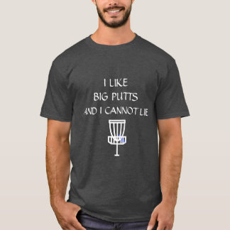 Camisa do humor de Discing das citações do golfe