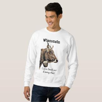 Camisa do humor do ar da leiteria de Wisconsin