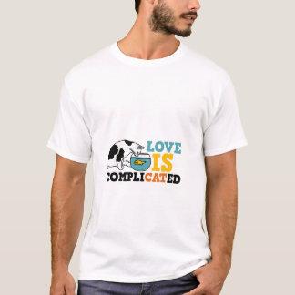 Camisa do humor T do gato
