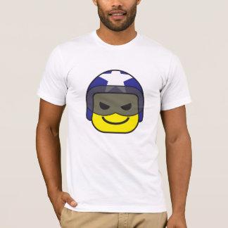 camisa do ícone t do piloto do cavaleiro
