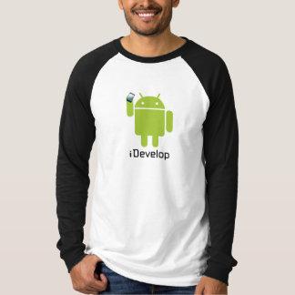 camisa do idevelop! camiseta