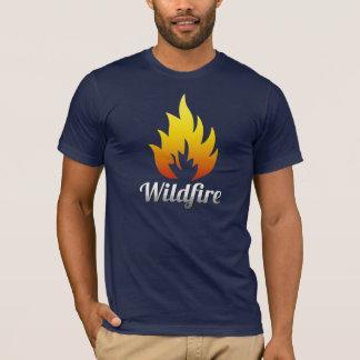 Camisa do incêndio violento T
