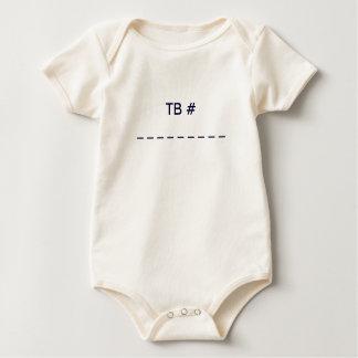 Camisa do inseto do viagem do bebê