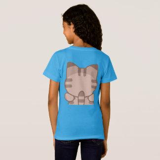 Camisa do jérsei das meninas do gato de Cutie