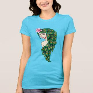 Camisa do jérsei das mulheres da arte da deusa do