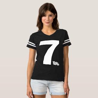 Camisa do jérsei do futebol da banda da trilha