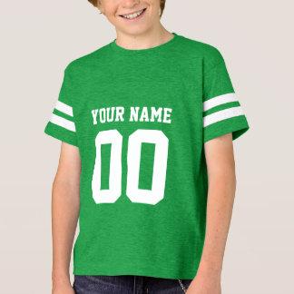 Camisa do jérsei do futebol dos miúdos conhecidos
