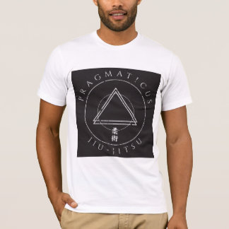 Camisa do kanji do triângulo do jitsu de Jiu