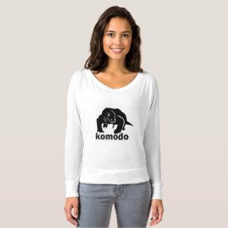 camisa do komodo dos animais