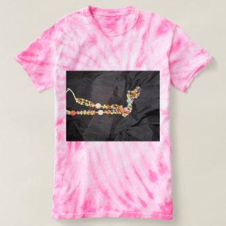 Camisa do laço de Beautiul com jóia