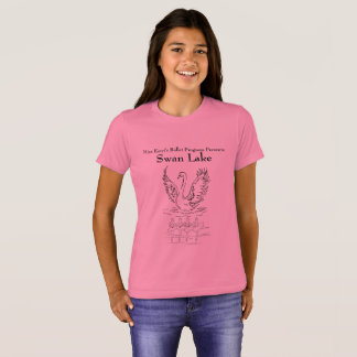 Camisa do lago swan das meninas