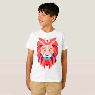 Camisa do leão do polígono