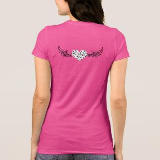 Camisa do logotipo da asa de SpotShot
