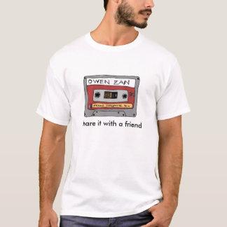 Camisa do logotipo da fita de Owen Zan