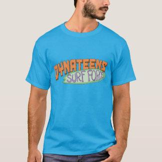 Camisa do logotipo da força do surf de Dynateens