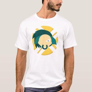 Camisa do logotipo da Retro-Paranóia. T-shirt