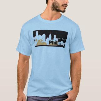 Camisa do logotipo da skyline de PhilaFly