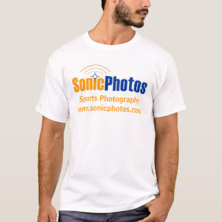 Camisa do logotipo de SonicPhotos