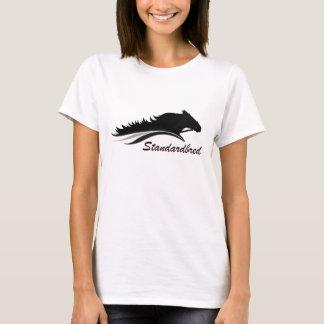 Camisa do logotipo de Standardbred