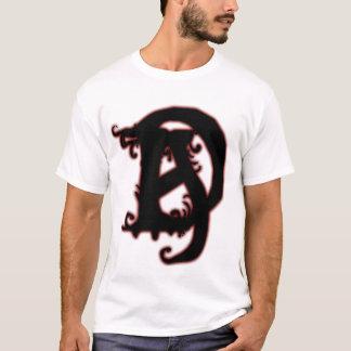 Camisa do logotipo do acusante do diabo