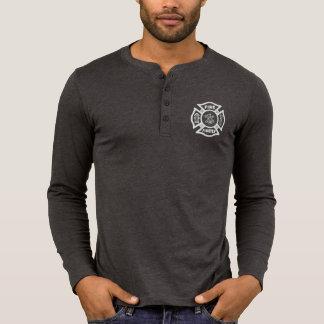 Camisa do logotipo do departamento do fogo do