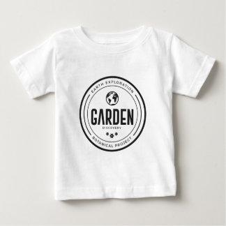 Camisa do logotipo do jardim