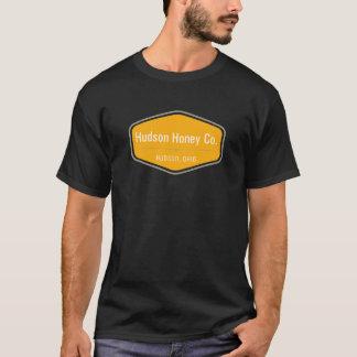 Camisa do logotipo do mel de Hudson