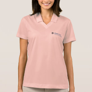 Camisa do logotipo do Pactiv das mulheres