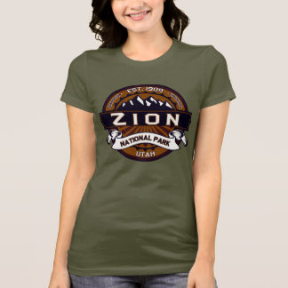 Camisa do logotipo do parque nacional de Zion