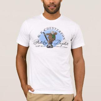 Camisa do logotipo do poeta & do profeta