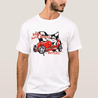 Camisa do logotipo do vintage das peças de