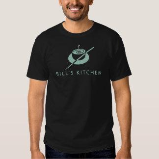 Camisa do logotipo T da cozinha de Bill Tshirt