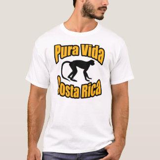 Camisa do macaco de Vida Costa Rica
