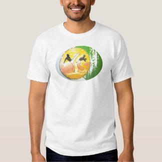 camisa do machado do ginga do capoeira t-shirt