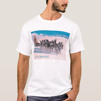 Camisa do Malamute do Alasca