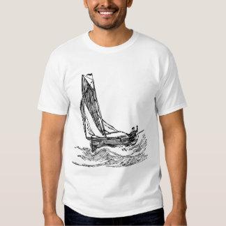 Camisa do marinheiro camiseta