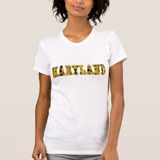 Camisa do Maryland Susan de olhos pretos das