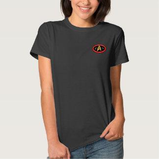 Camisa do membro de clube das senhoras Hudson T-shirts