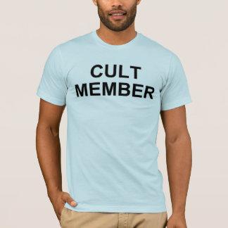 Camisa do membro do culto